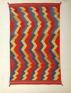 Old Navajo blankets