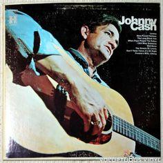 Johnny Cash – Johnny Cash Johnny Cash Albums, Johnny Cash Vinyl, Cd Cover Art, Cover Pics, Vinyl Music, Vinyl Records, The Streets Of Laredo, Pochette Album, Country Songs