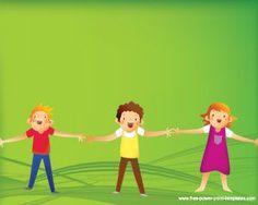 Children Powerpoint Template PPT Template
