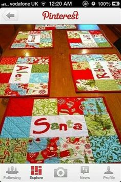 Cute placemats!