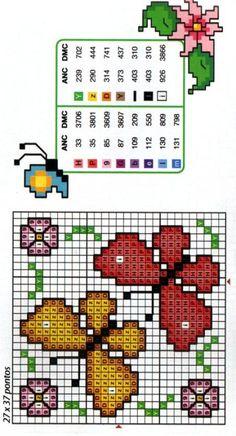 Gallery.ru / Фото #4 - бабочки, схема на 1 лист - irinika