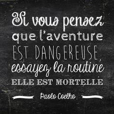 Les plus belles citations de Voyage Travel quotes 2019 - Travel Photo The Words, Cool Words, Words Quotes, Me Quotes, Book Quotes, Quotes Valentines Day, Typographie Logo, Plus Belle Citation, Quote Citation