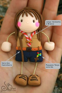 Polymer Clay Dolls, Polymer Clay Projects, Clay Crafts, Jumping Clay, Clay Art For Kids, Art Doll Tutorial, Play Clay, Little Boy And Girl, Clay Figures