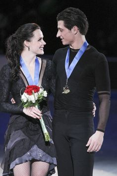 Tessa Virtue & Scott Moir (Bernard Weil/Toronto Star via Getty Images)