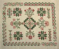 Reverie jardin cross-stitch - free