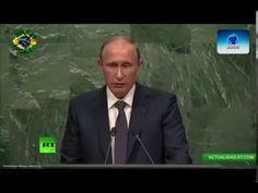 RÚSSIA PUTIN, DISCURSO ONU 2015 CONTRA A NOVA ORDEM MUNDIAL UNIPOLAR VIRA HERÓI DO MUNDO - PART 2 - YouTube