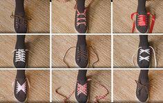 Kengännauhojen solmiminen on mahdollista lukemattomilla eri tavoilla. Kotilieden videolta löydät varmasti juuri tarpeeseesi ja tyyliisi sopivan ohjeen. Beauty And Fashion