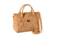 Cork bag - AVEIRO Platinized Golden
