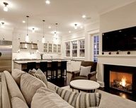 Design Ideas With Modern Family Room Floor Plans Layout Using
