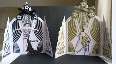 Cards made using the Deco Party Collection