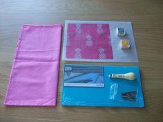 Kit para personalizar unas servilletas