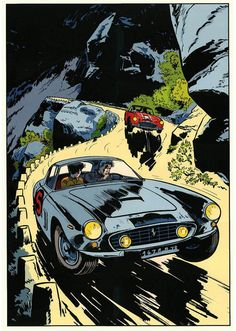 Pop Art, Superman, Batman, Ligne Claire, Alien Art, Bd Comics, Art Et Illustration, Learn Art, Car Posters