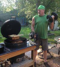 Sean's Big Green Egg Lasagna - Barbecues Galore