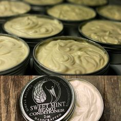 Our Sweet Mint Beard Conditioner has been our best selling beard product as of late. Wives are loving this invigorating and uplifting scent; the soft beard is nice too!  # #beards #beard #bearded #beardcare #beardgrooming #beardgang #beardarmy #beardoil #beardbalm #organic #natural #handcrafted #handmade #treatyoself #smellgood #beardbutter #beardconditioner #leaveinconditioner #quality #thebest #amazing #handsome #manly #beardgame #beardsandtattoos #awesome #nontoxic #kingsporttn…