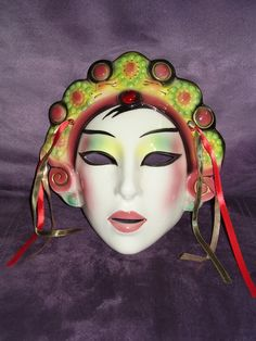 Clay art Mask San Francisco Co. Chinese Princess