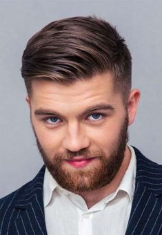 Short Haircut For Men 2021 Mens Hairstyles Round Face, Mens Hairstyles With Beard, Haircuts For Men, Hairstyles Haircuts, Cool Hairstyles, Tapered Hairstyles, Short Haircuts, Hairstyle Ideas, Latest Haircuts