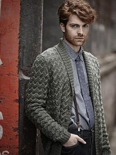 Neat Tailored Jacket Knit this mens stylish jacket from Designer Knits. A design by Martin Storey using our superwash yarn Pure Wool DK (wool), this pattern feat...