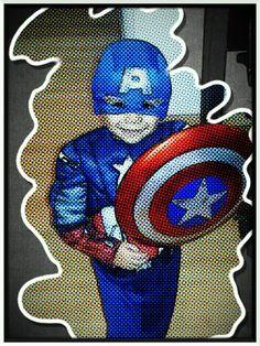Mi súper héroe!! #avengers #kids