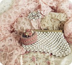 The color combo, the lace...it just doesn't get any better!