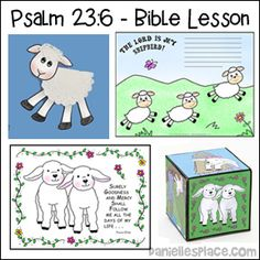 Psalm 23 4 Bible Lesson For Children Including Bible