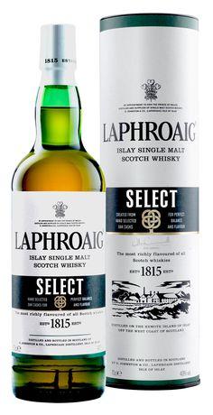 De nieuwe no-age botteling van Laphroaig. Gerijpt in een aantal verschillende…