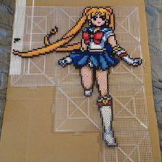 Sailor Moon perler beads by b.dawg.skip