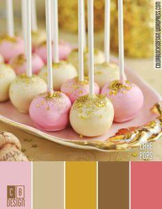 Cake Pops   Color Blocks Design