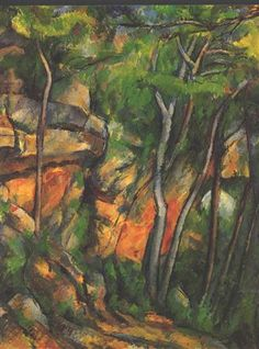 In the Park of the Chateau Noir - Paul Cezanne