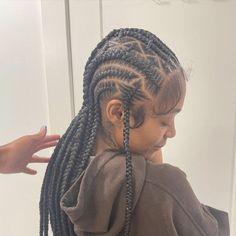 Feed In Braids Hairstyles, Braids Hairstyles Pictures, Black Girl Braided Hairstyles, Baddie Hairstyles, Protective Hairstyles, Protective Styles, Quick Braided Hairstyles, Hair Ponytail Styles, Curly Hair Styles