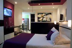 Loft Suites in 2 Main Rooms with Queen Bed