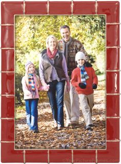 Marlene Red Picture Frame Red Picture Frames, Red Pictures, Baseball Cards