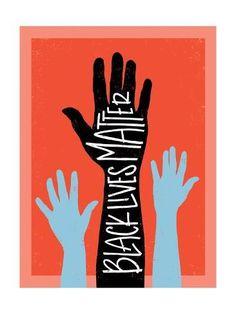 Black Lives Matter - Hands Poster Print by Emily Rasmussen Protest Kunst, Protest Art, Protest Signs, Black Lives Matter Quotes, Black Lives Matter Shirt, Protest Posters, Political Art, Political Posters, Poster Prints