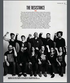 Design Action Collective featured in Print Magazine Social Change, Print Magazine, Non Profit, Action, Sayings, Movie Posters, Collection, Things To Sell, Design