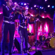 Red Baraat & Mariachi Flor de Toloache performed on Monday at Brooklyn Bowl