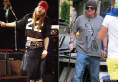 axl rose 1992 and 2013