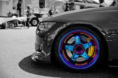 Speedelement's BMW E92 335i on neo-chrome Work S1's. by Braxen Photography