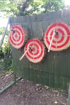 spins The Further you move back the more spins you need obviously Pontefract Range KATTA Throwing Knife Target, Throwing Axe, Outdoor Shooting Range, Outdoor Range, Bow Target, Shooting Targets, Archery Targets, Archery Range, Medieval Party
