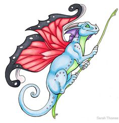 Sarah Thomas - Faerie Dragon