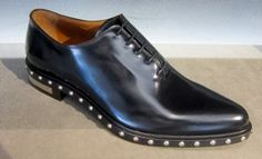 Elegant shoes by @Givenchy #Givenchy #studs #shoes #ForMen #FolliFollie #FW14collection