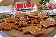 Gingerbread men - Result of my inspirations