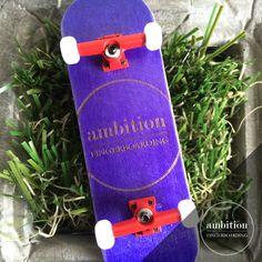 Pocket Pop - Purple. Ambition Fingerboarding.