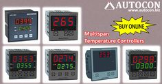 Buy Multispan make Temperature Controllers & Indicators at our Online Purchase & Business Portal....