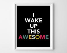 Work It Print  Quote  Motivational Art  by KryderPrints on Etsy, $10.00