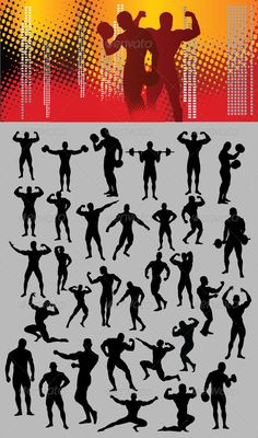 Bodybuilder Silhouette #GraphicRiver This is nice and high detail vector. In this files include AI and EPS versions. You can open it with Adobe Illustrator CS and other vector supporting applications. I hope you like my design, thanks visit my silhouettes collection graphicriver /collections/3119286-silhouettes Created: 7December12 GraphicsFilesIncluded: VectorEPS #AIIllustrator Layered: No MinimumAdobeCSVersion: CS Tags: activity #bodybuilder #bodybuilding #competition #dumbbell #fitness…