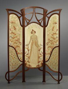Art Nouveau in Gemeentemuseum Den Haag - Vezel