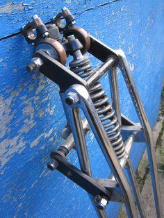 Webb fork, girder fork