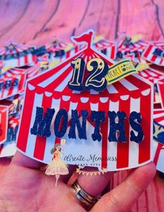 Carnival photo banner , Carnival birthday banner , carnival photo clips