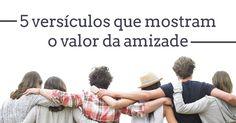 A amizade é um relacionamento muito especial. As amizades que fazemos ao longo da vida nos marcam e nos mudam. A Bíblia explica por que toda a gente precisa de amigos.