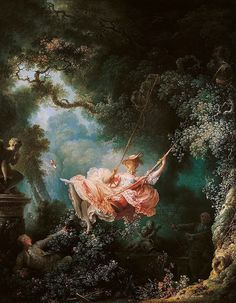 The Swing By Jean Honore Fragonard 1767