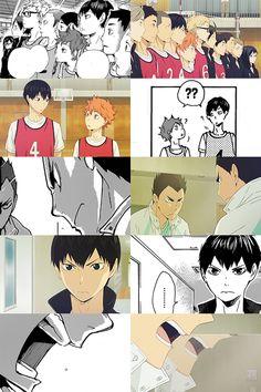 13. Manga vs Anime - haikyuu!!